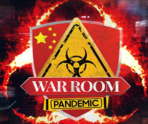war room pandemic logo